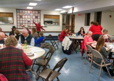 Annual Meeting and Potluck – Fellowship – January 20, 12:15pm