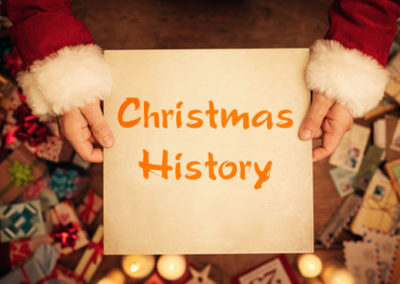 The History of Christmas – Sunday School – December 1-22, 9:40am