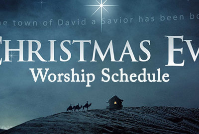 Christmas Eve – Worship – December 24, 10:30 am, 5:00 pm, 7:00 pm, 11:00 pm