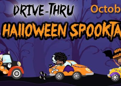 Socially-Distant Drive-Thru Trunk-or-Treat – Saturday, October 31, 5-7pm